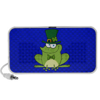 Irish Frog; Blue iPhone Speaker