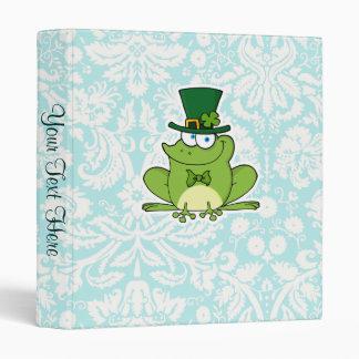 Irish Frog; Cute Binder