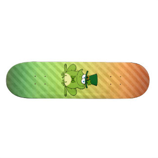Irish Frog Design Skate Board Decks