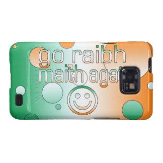 Irish Gaelic Gifts Thank You / Go Raibh Maith Agat Samsung Galaxy S2 Case