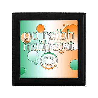 Irish Gaelic Gifts Thank You / Go Raibh Maith Agat Gift Boxes