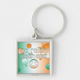 Irish Gaelic Gifts Thank You / Go Raibh Maith Agat Key Chain