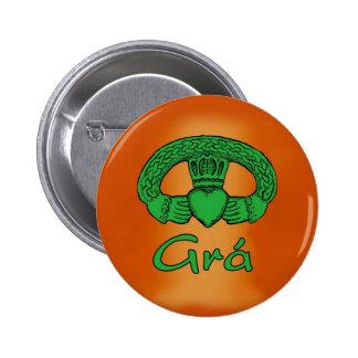 Irish Gaelic Love button