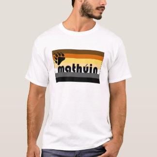 Irish Gaelic (Mathúin) Gay Bear Pride Flag T-Shirt