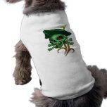 Irish Gambling Pirate Doggie T Shirt