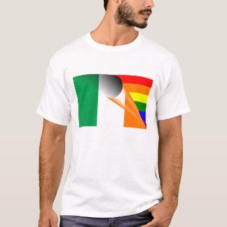 Irish Gay Pride Rainbow Flag T-Shirt