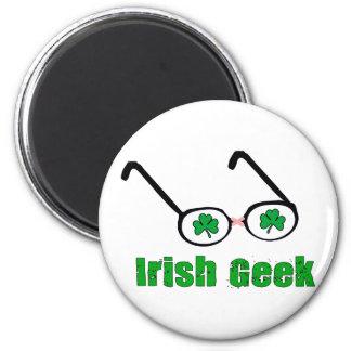 Irish Geek 2 Inch Round Magnet
