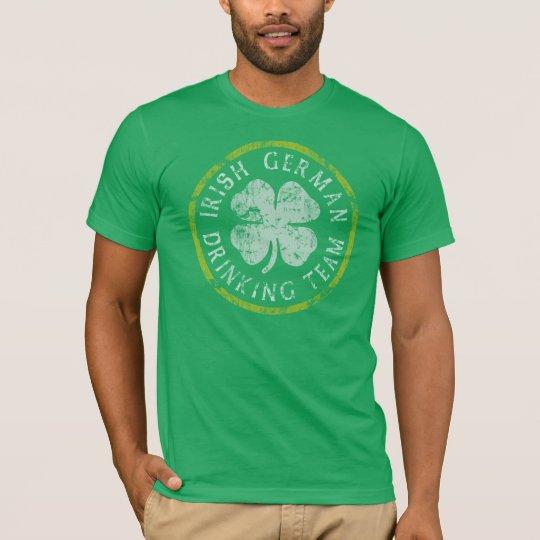 Irish German Drinking Team t shirt