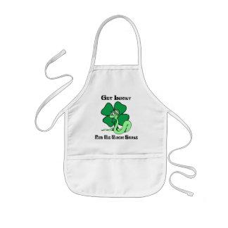 Irish - Get Lucky Rub Me Gift Apron