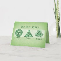 Irish Get Well Wishes, Religious Card