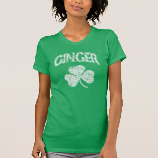 Irish Ginger Shamrock T-Shirt