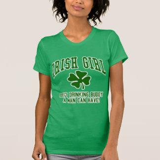 Irish Girl: Drinking Buddy Tee Shirts