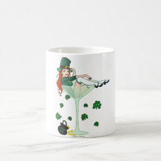 Irish Girl Martini Magic Mug