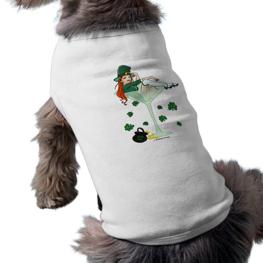 Irish Girl Martini Shirt