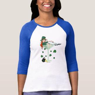Irish Girl Martini St Patricks Day Shirt