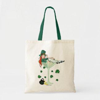 Irish Girl Martini Tote Bag