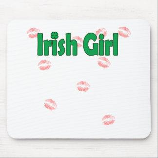 Irish Girl Mouse Pad