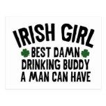 Irish Girl Postcard