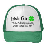 Irish Girl The Best Drinking Buddy A Guy Could Mesh Hats