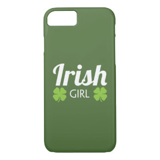 Irish Girl White iPhone 8/7 Case