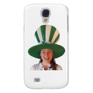 Irish girl with huge Hat Samsung Galaxy S4 Case