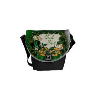 Irish Girl Zero Messenger Bag