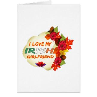 Irish Girlfriend designs Greeting Cards