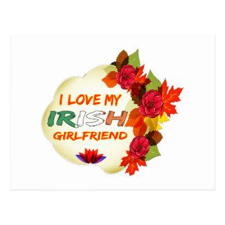 Irish Girlfriend designs Postcard
