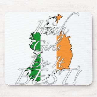 Irish Girls Do It Best! Mouse Pad
