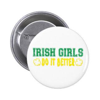 Irish Girls Do It Better Pinback Buttons