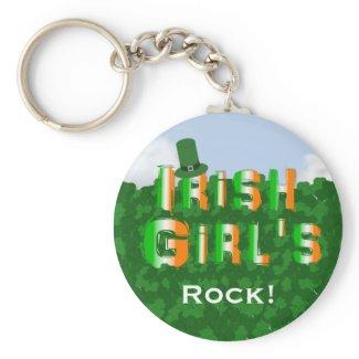 Irish Girls Keychain keychain