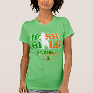 Irish girls St Patrick's day T Shirt