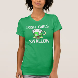 Irish Girls Swallow T-shirt