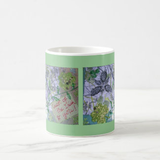Irish Glitter Luck Collage Coffee Mug