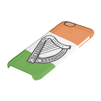 Irish glossy flag clear iPhone 6/6S case