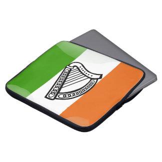Irish glossy flag laptop sleeve