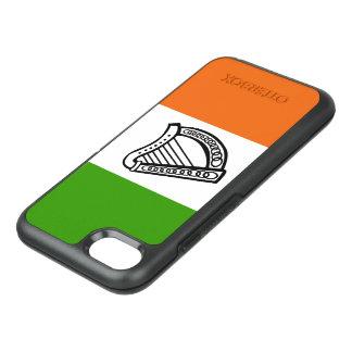Irish glossy flag OtterBox symmetry iPhone 7 case
