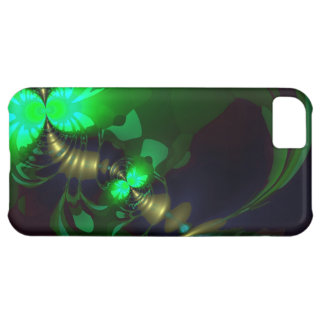 Irish Goblin – Emerald and Gold Ribbons Case For iPhone 5C