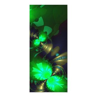 Irish Goblin – Emerald and Gold Ribbons Custom Announcement