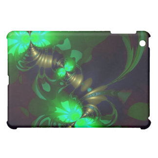 Irish Goblin – Emerald and Gold Ribbons iPad Mini Case
