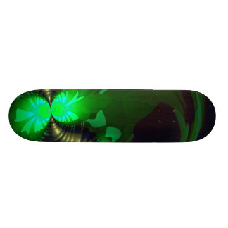 Irish Goblin – Emerald and Gold Ribbons Skateboard