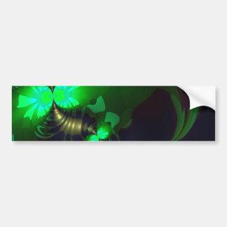 Irish Goblin – Emerald and Gold Ribbons SP Car Bumper Sticker