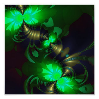 Irish Goblin – Emerald and Gold Ribbons SP Posters