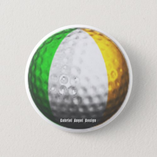 Irish Golf Button
