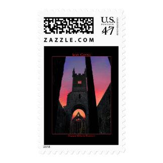 Irish Gothic Postage Stamps