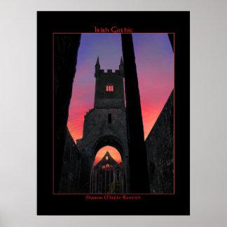 Irish Gothic Poster Print