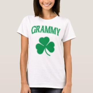 Irish Grammy Green Shamrock T-Shirt