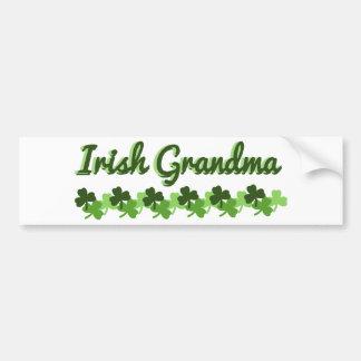 Irish Grandma Bumper Sticker
