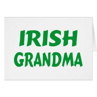 Irish Grandma Card