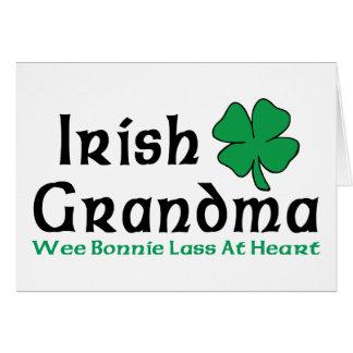 Irish Grandma Gift Card